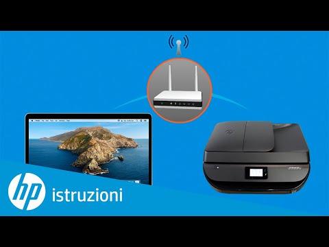 Imparare a configurare unwireless stampante senza fili HP  utilizzando HP Smart in macOS