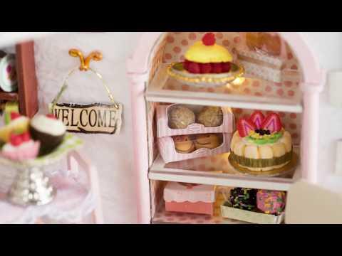 DIY Dollhouse Kit Cake Shop  | 11.11 GearBest