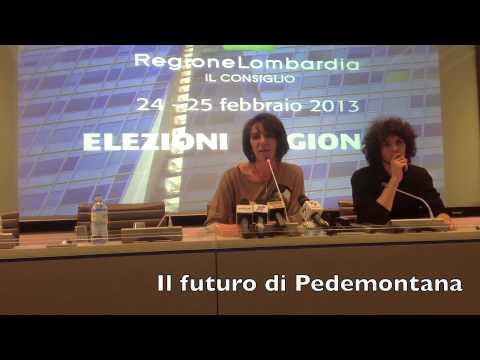 Silvana Carcano presenta la Lombardia a 5 Stelle