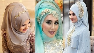 Wedding Hijab Styles Best Hijab Styles For Weddings Bridal Hijab Styles | Umara Designer