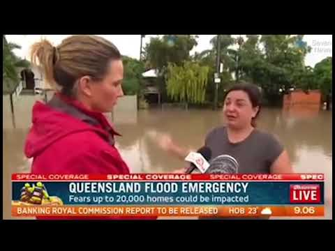 Woman's desperate search for her missing sister during floods