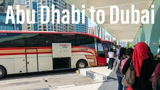 How to Get to Dubai Airport from Abu Dhabi for $8.99 USD