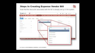 How to Create an Expense Vendor Bill in NetSuite