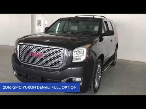 2016 GMC Yukon Denali Full Option