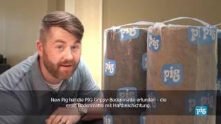 Grippy Bodenmatte - Die weltweit erste Matte mit selbstklebender Unterseite