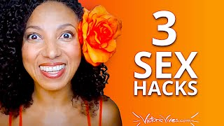 Youtube with Victoria Vives 3 SEXUALITY HACKS for Busy Women sharing on Become Your Divine Self