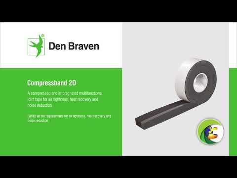instructievideo Zwaluw Compressband 15x4mm rol/8mtr