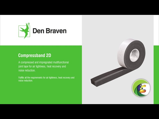 instructievideo Zwaluw Compressband 10x4mm rol/8mtr