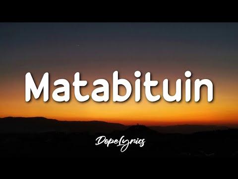 Jepoy - Matabituin (Lyrics) | are you lost baby girl?
