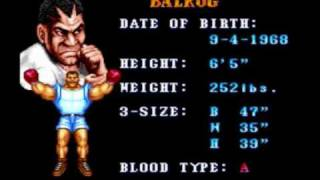 Awesome Video Game Tracks #38 - Street Fighter II Balrog Theme