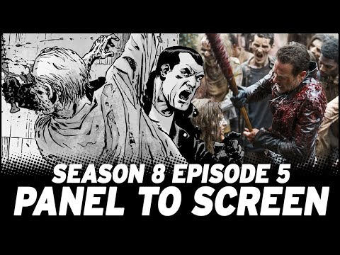 The Walking Dead Season 8, Episode 5 - Show vs. Comic!