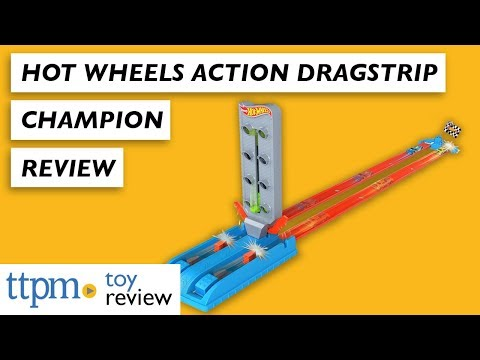 Hot Wheels Action Dragstrip Champion from Mattel