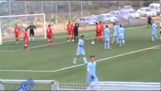 preview picture of video 'هدف عدي خروب في مرمى مركز جنين 16-2-2013'