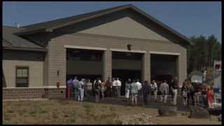 Governor Cuomo Announces Opening of New Upper Jay Fire Station (B-Roll)