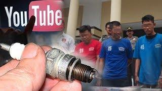 Belajar dari Youtube, Komplotan Perampok Pecah Kaca Mobil Beraksi Gunakan Busi Motor
