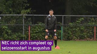 NEC-trainer Rogier Meijer heeft nog wel verlanglijstje