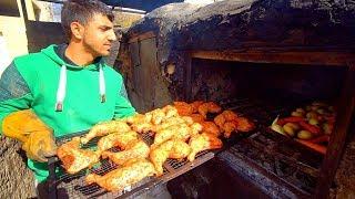 "Palestinian Food - RARE ""Zarb"" BBQ Arabic Cooking in Bethlehem + STREET FOOD in Palestine!"