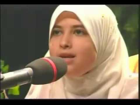 Best female Quran reciter, Sumayya EdDeeb: reciting Surat Al-Fajr