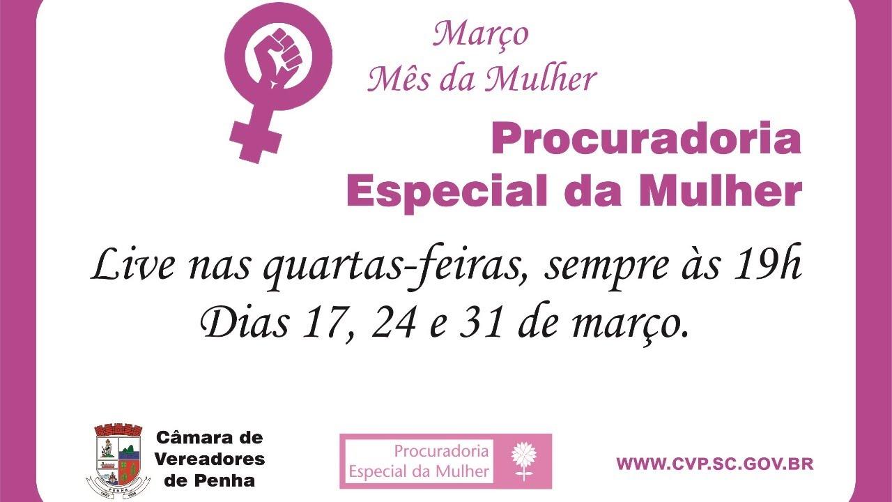 Live 2 - Procuradora Especial da Mulher 24/03/2021