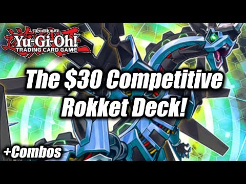 Yu-Gi-Oh! The $30 Competitive Rokket Deck Profile! (New Rokket Revolt Structure Deck)