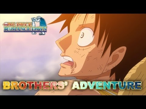 One Piece Romance Dawn - 3DS - Brothers' adventure (Japan Expo 2013) (Trailer) thumbnail