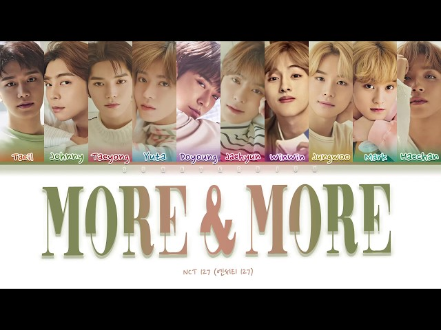 How would NCT 127 sing MORE & MORE - TWICE
