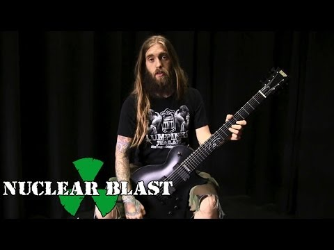 Mark Heylmun (Suicide Silence) on his LTD MKH-7