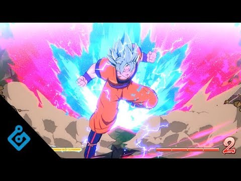 New Dragon Ball FighterZ Gameplay From Its Developer's Best Players – SSGSS Goku vs SSGSS Vegeta