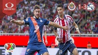 Resumen Chivas 1 - 3 Puebla | Clausura 2019 - J15 | Televisa Deportes