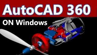 AutoCAD 360 App Tutorial on Windows 10