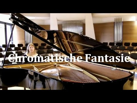 Johann Sebastian Bach: Chromatische Fantasie und Fuge BWV 903 d-Moll, Ann-Helena Schlüter, Klavier