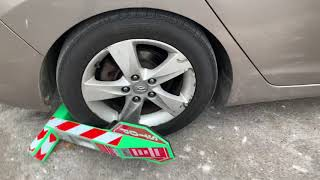 How to remove the boot off your car in seconds