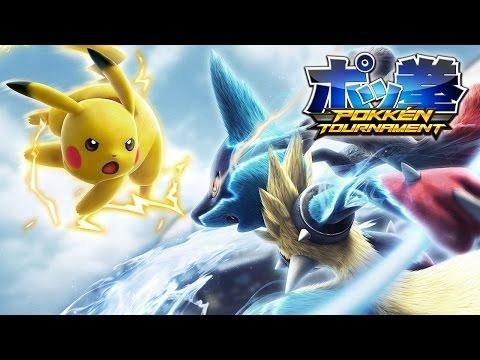 Видео № 0 из игры Pokken Tournament [Wii U]