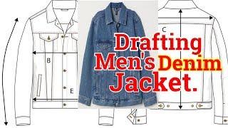 Denim Jacket Pattern [diy]How To Make Denim Jacket Pattern*new Tips*best Jean Jacket Sewing Pattern