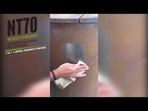 NT70 - Proteção contra ação da Maresia e Ferrugem em Aço INOX- Performance