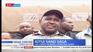 Kitui County Government accuses police of frustrating their efforts to conserve the environment