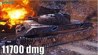 СКИЛЛ на ИМБЕ Объект 430У 🌟 11700+ Dmg 🌟 World Of Tanks лучший бой ст 10