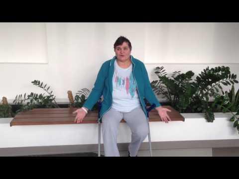 Операция по замене коленного сустава и реабилитация после операции - отзыв пациентки.