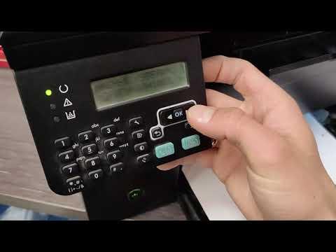 HP M1212 nf MFP принтер печатает с фоном