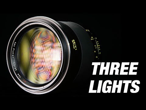 3 Minutes & 3 Lights *** Product photography tutorial