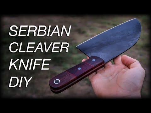 Knife Making: Kitchen Cleaver Knife