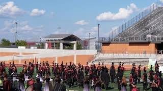 Floresville Mighty Tiger Band @ Rough Rider Marching Contest 2019