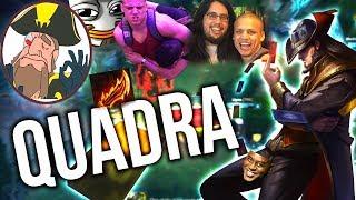 Tobias Fate TWITCHCON MEETINGS..? AD TF OP!! QUADRA KILL   League of Legends
