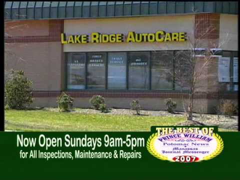 Lake Ridge Auto Care video