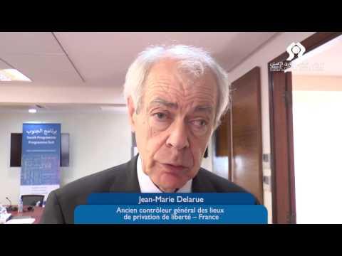 Jean-Marie Delarue : Mécanisme national de prévention de la torture au Maroc