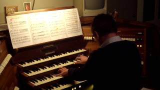 Э. Хагагортян Симфония 3 (фрагмент) Орган
