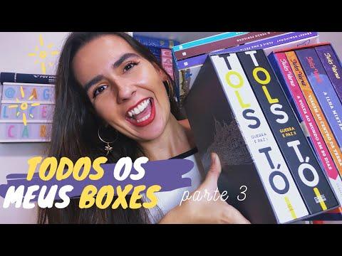 TODOS OS MEUS BOXES DE LIVROS (PARTE 3) | Ana Carolina Wagner