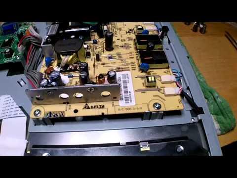 Philips 170s lcd Repair *bad caps no backlight*