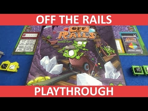Slickerdrips 2 Player Play-through of Off the Rails