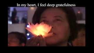 Tzu Chi Prayer (in English)